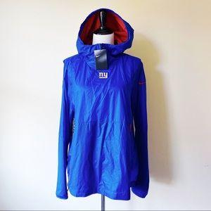 Nike NFL New York Giants Alpha Rush PO Jacket Blue